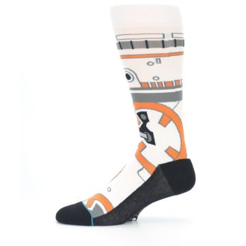 Image of BB-8 Thumbs Up Star Wars Men's Casual Socks (side-2-11)