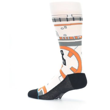 Image of BB-8 Thumbs Up Star Wars Men's Casual Socks (side-2-13)