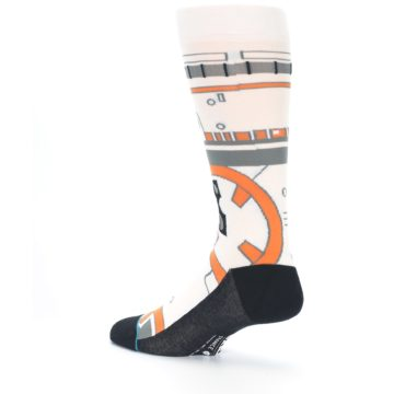 Image of BB-8 Thumbs Up Star Wars Men's Casual Socks (side-2-back-14)