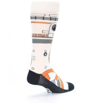 Image of BB-8 Thumbs Up Star Wars Men's Casual Socks (side-1-back-22)