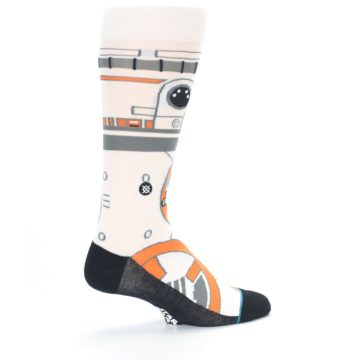 Image of BB-8 Thumbs Up Star Wars Men's Casual Socks (side-1-23)