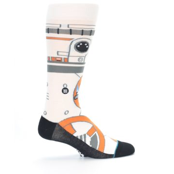 Image of BB-8 Thumbs Up Star Wars Men's Casual Socks (side-1-24)