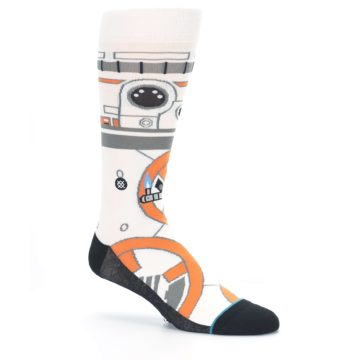 Image of BB-8 Thumbs Up Star Wars Men's Casual Socks (side-1-26)