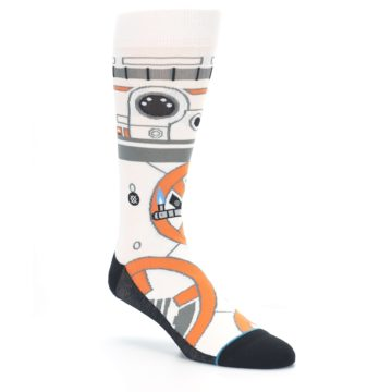 Image of BB-8 Thumbs Up Star Wars Men's Casual Socks (side-1-27)