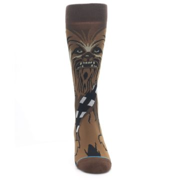 Image of Chewbacca Cheewie Star Wars Men's Casual Socks (front-04)