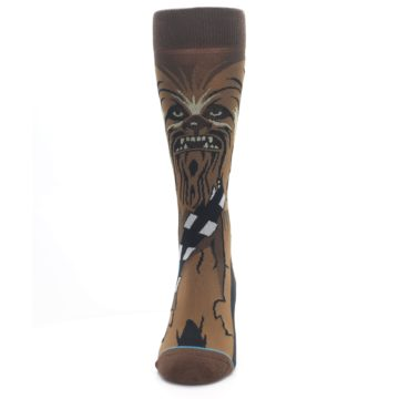 Image of Chewbacca Cheewie Star Wars Men's Casual Socks (front-05)