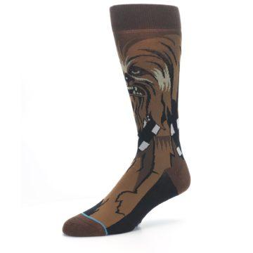 Image of Chewbacca Cheewie Star Wars Men's Casual Socks (side-2-09)