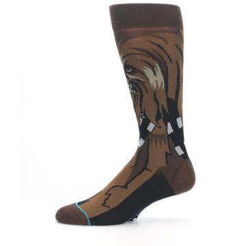 Image of Chewbacca Cheewie Star Wars Men's Casual Socks (side-2-11)