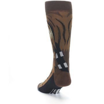 Image of Chewbacca Cheewie Star Wars Men's Casual Socks (side-2-back-16)