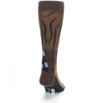 Image of Chewbacca Cheewie Star Wars Men's Casual Socks (back-19)
