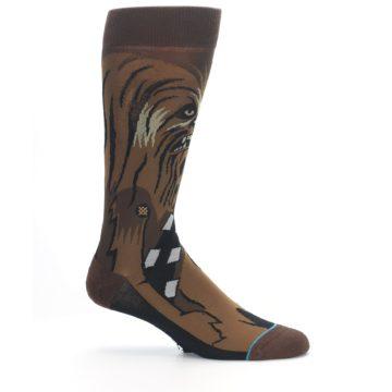 Image of Chewbacca Cheewie Star Wars Men's Casual Socks (side-1-25)