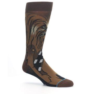 Image of Chewbacca Cheewie Star Wars Men's Casual Socks (side-1-26)