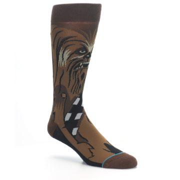 Image of Chewbacca Cheewie Star Wars Men's Casual Socks (side-1-27)