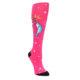 Pink Unicorn vs Narwhal Women's Knee High Sock