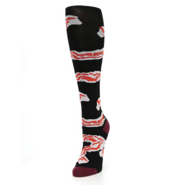 Image of Bacon Women's Knee High Sock (side-2-front-07)