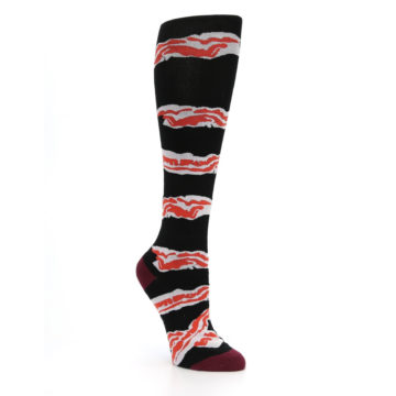 Image of Bacon Women's Knee High Sock (side-1-27)
