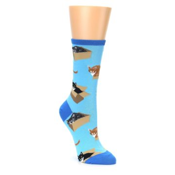 Cat in a Box Socks for Women
