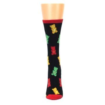 Image of Black Gummy Bears Women's Dress Socks (front-05)