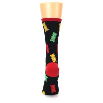 Image of Black Gummy Bears Women's Dress Socks (back-18)