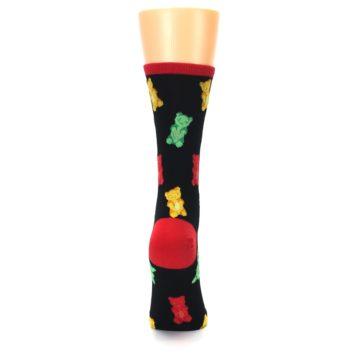 Image of Black Gummy Bears Women's Dress Socks (back-19)