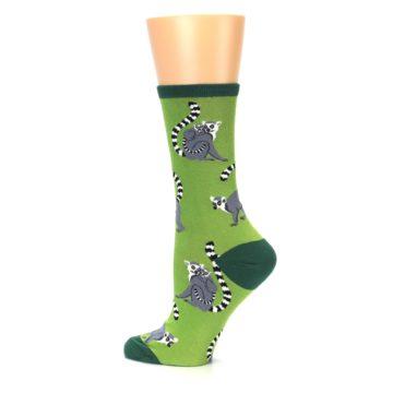 Image of Green Lemurs Women's Dress Socks (side-2-13)