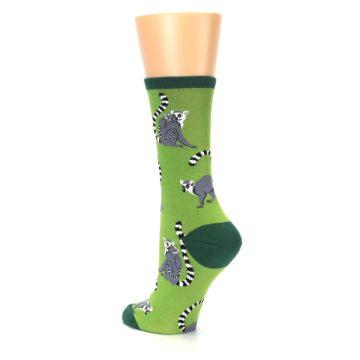 Image of Green Lemurs Women's Dress Socks (side-2-back-15)
