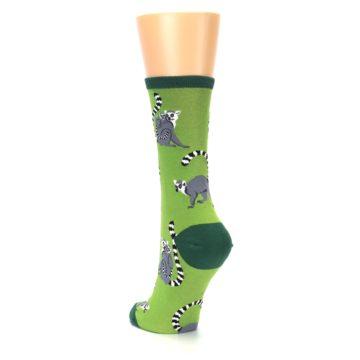 Image of Green Lemurs Women's Dress Socks (side-2-back-16)