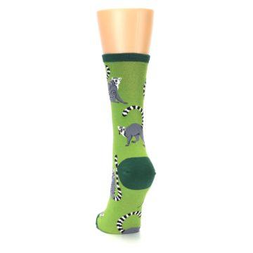 Image of Green Lemurs Women's Dress Socks (back-17)