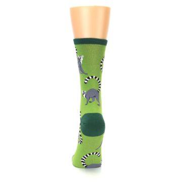 Image of Green Lemurs Women's Dress Socks (back-18)