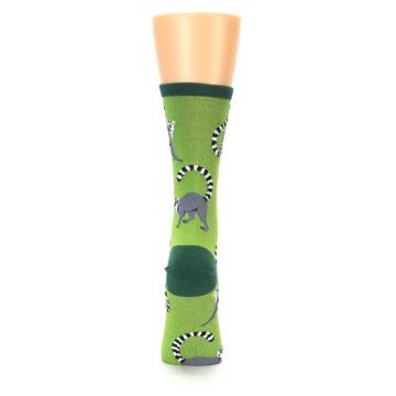 Image of Green Lemurs Women's Dress Socks (back-19)