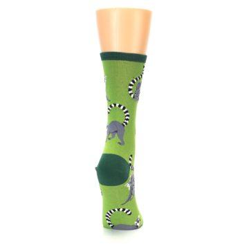 Image of Green Lemurs Women's Dress Socks (side-1-back-20)