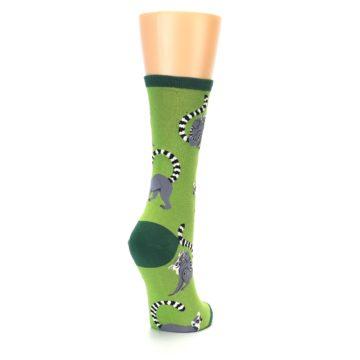Image of Green Lemurs Women's Dress Socks (side-1-back-21)