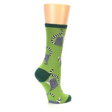 Image of Green Lemurs Women's Dress Socks (side-1-23)