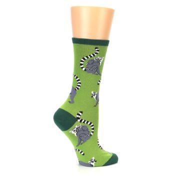 Image of Green Lemurs Women's Dress Socks (side-1-24)