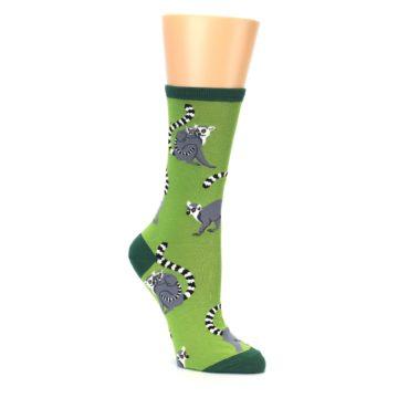 Image of Green Lemurs Women's Dress Socks (side-1-27)