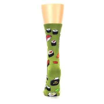 Image of Green Sushi Food Women's Dress Socks (back-18)