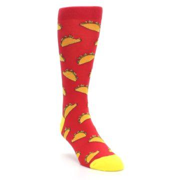 Red Taco Socks for Men