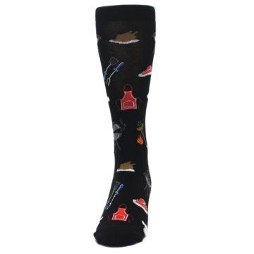Image of Black Grill Master Men's Dress Socks (front-05)