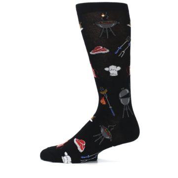 Image of Black Grill Master Men's Dress Socks (side-2-12)