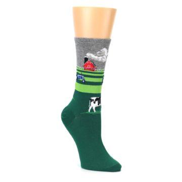 Women's Farm Cow Socks Novelty by Hot Sox