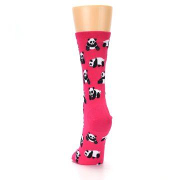 Image of Pink Panda Bears Women's Dress Socks (back-17)