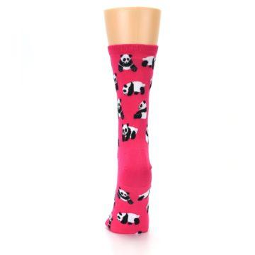 Image of Pink Panda Bears Women's Dress Socks (back-18)