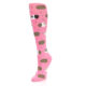 Image of Pink Guinea Pig Women's Knee High Sock (side-2-front-08)