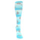 Image of Blue Narwhal Women's Knee High Sock (front-04)