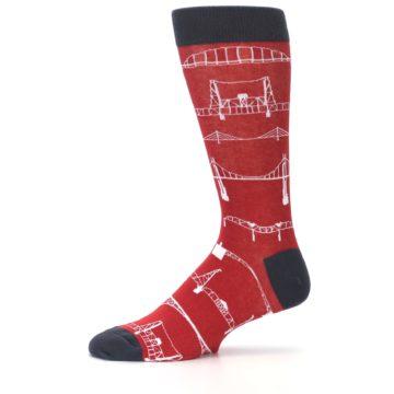 Image of Red Bridges Men's Dress Socks (side-2-11)