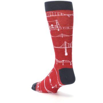 Image of Red Bridges Men's Dress Socks (side-2-back-15)