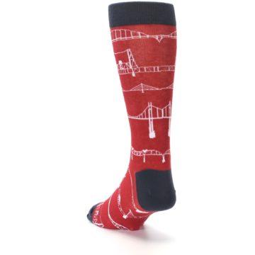 Image of Red Bridges Men's Dress Socks (side-2-back-16)