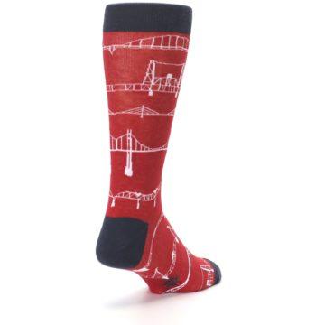 Image of Red Bridges Men's Dress Socks (side-1-back-21)