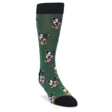Image of Go Fetch Dog Men's Dress Socks (side-1-front-02)