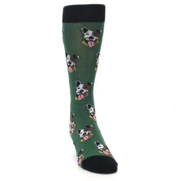 Image of Go Fetch Dog Men's Dress Socks (side-1-front-03)
